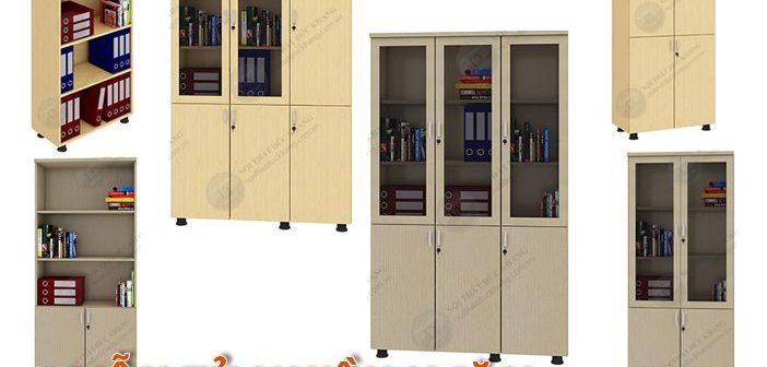 6 mẫu tủ đựng hồ sơ nhiều ngăn Đức Khang 2018
