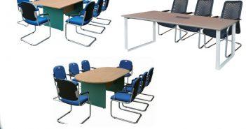 Bàn họp nhỏ dài 1m8 - lựa chọn đúng cho văn phòng diện tích nhỏ