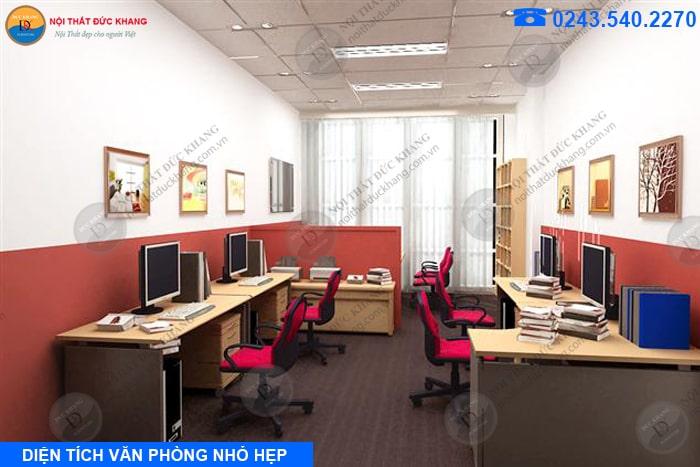 Khi diện tích văn phòng doanh nghiệp nhỏ hẹp