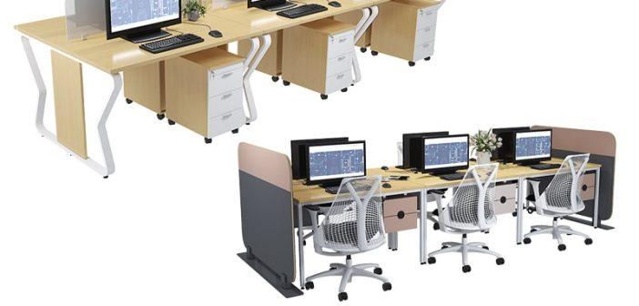 Khi nào nên bố trí module bàn làm việc 6 người?
