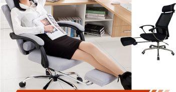 Những mẫu ghế văn phòng ngả lưng gác chân của Hòa Phát